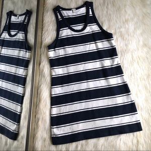 J. Crew | Navy & White Striped Dress Sz